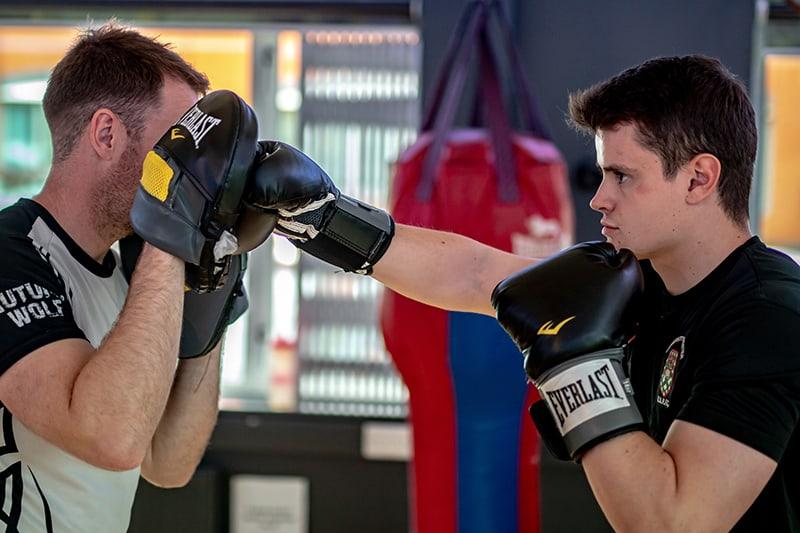 Paul Boxing